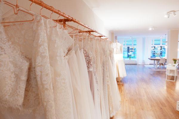 Exklusive Auswahl an Hochzeitskleidern