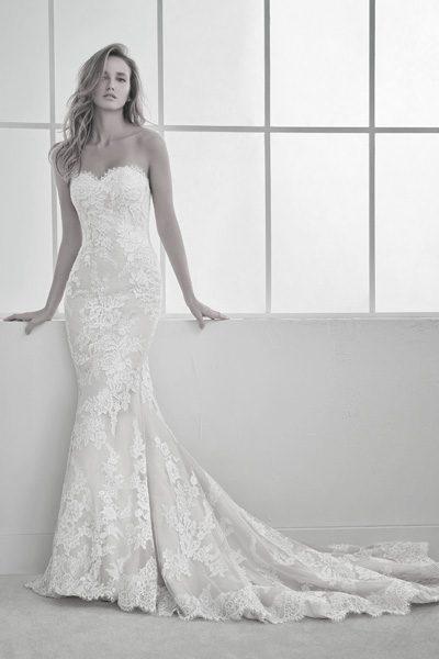 Brautkleid Famosa mit Herzausschnitt