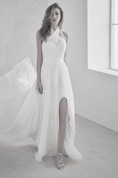 Hochzeitskleid Firmal, beinfrei