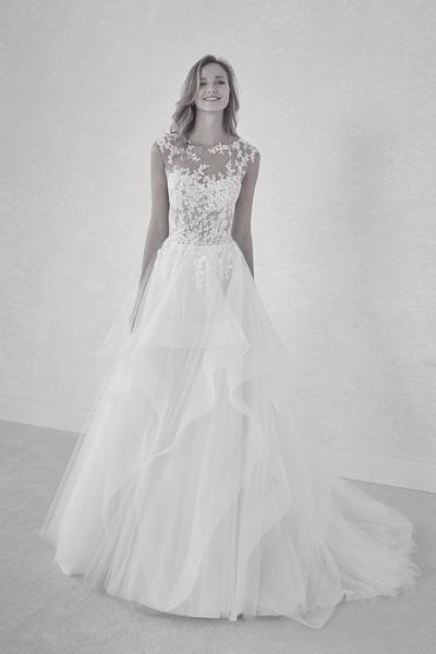 Hochzeitskleid Schnittform A-Linie