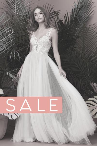 Wunderschönes Brautkleid mit leicht fallendem Tüll