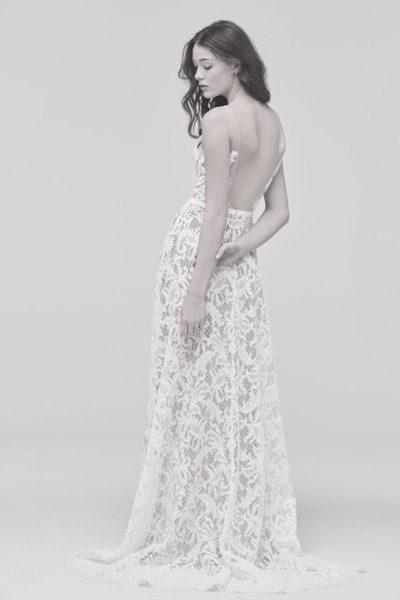 Hochzeitskleid im Hippie-Stil