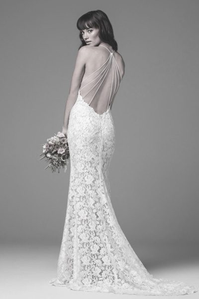 eng anliegendes Brautkleid - Lace wedding dress