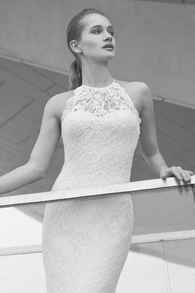 Hochzeitskleid Bordeaux - Le Papillon
