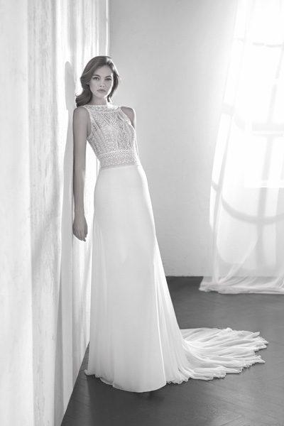 Vintage Hochzeitskleid - Oberteil Spitze