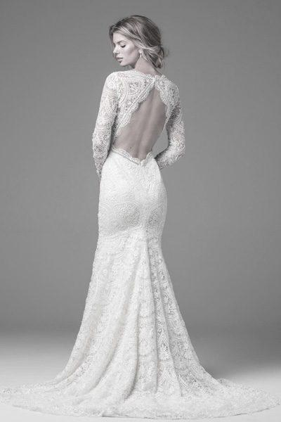 Hochzeitskleid im Boho-Stil