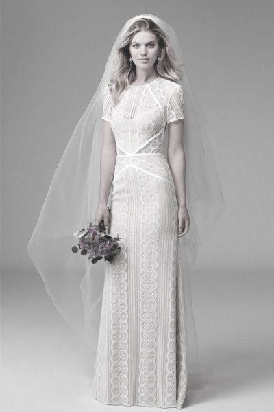 Vintage Hochzeitskleid von W-Too