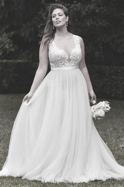 Hochzeitskleid für XL-Bräute