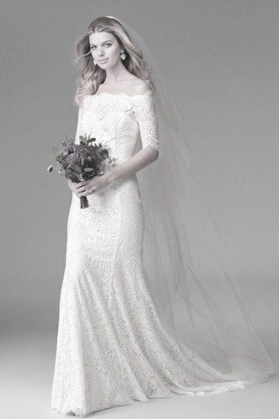 Hochzeitskleid H-Linie