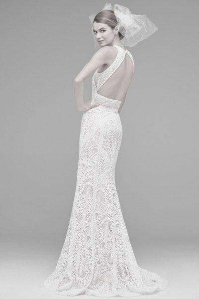 Hochzeitskleid rückenfrei lace
