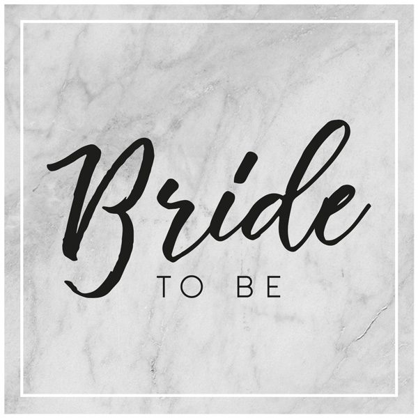 "Motive ""Bride to be"""