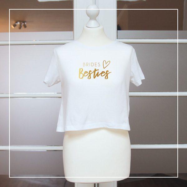 """Shirts für den JGA """"Brides Besties"""""""