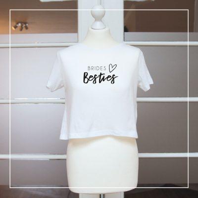 """T-Shirts """"Brides Bseties"""" für den Junggesellenabschied"""