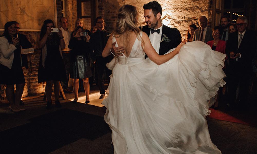 Hochzeitstanz vom Brautpaar