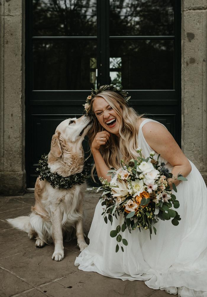Hund und Braut