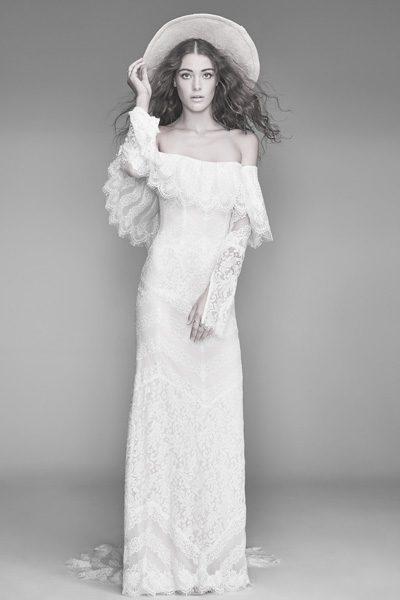 Hochzeitskleid Boho 2019