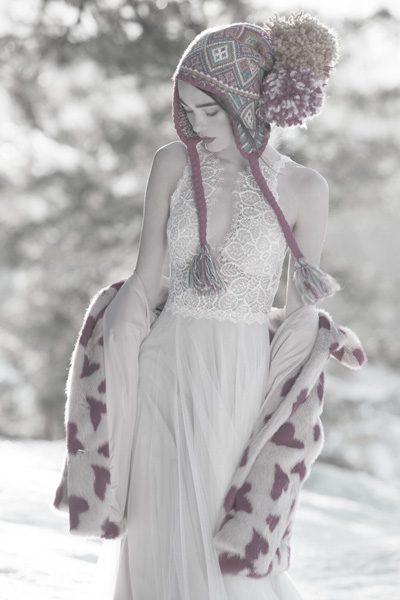 Hochzeitskleid - oben Spitze unten Tüll