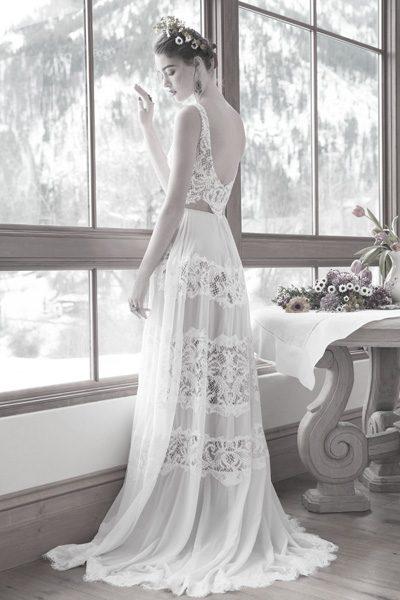 Hochzeitskleid Bohemian