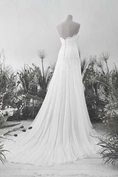 Wunderschönes Hochzeitskleid im Vintage-Style
