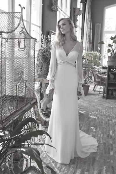 Vintage Hochzeitskleid