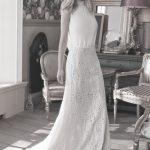 Seidenoberteil ohne Ärmel - Hochzeitskleid