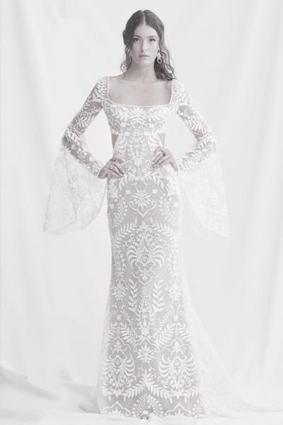 Hochzeitskleid für Boho-Hochzeit