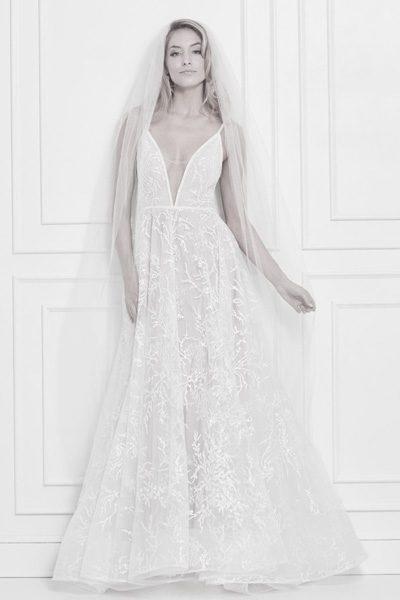 Stilvolles Hochzeitskleid