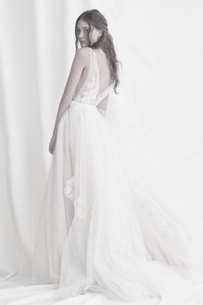 Hochzeitskleid Softtüll