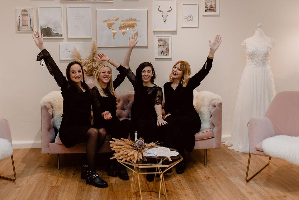 Das Team vom Brautstübchen Remscheid