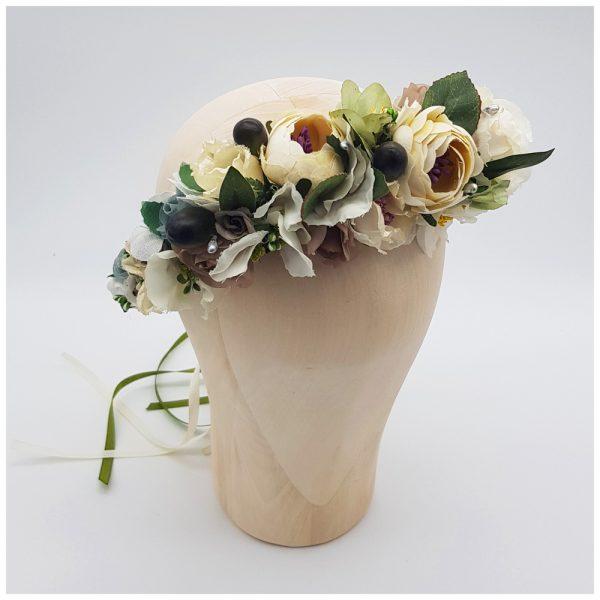 Flowercrown grün