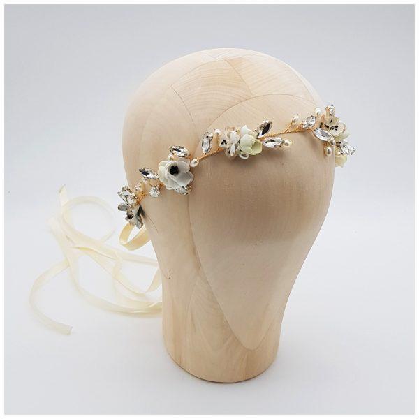 Headpiece mit Blumen