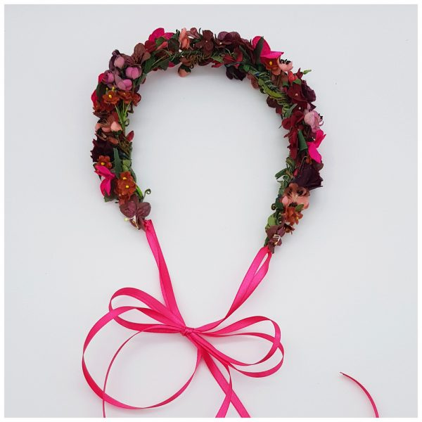 Farbenfrohe Flowercrown