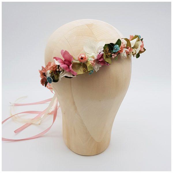 Flowercrown für die Boho-Braut