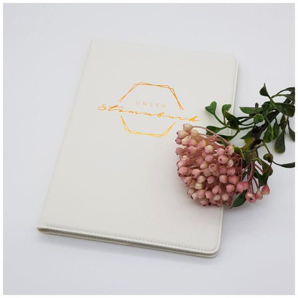 Stammbuch im Boho-Look
