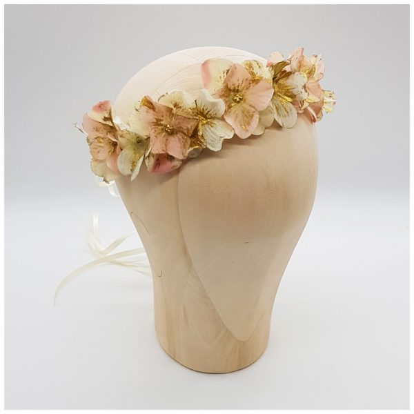 Modernes Headpiece zur Hochzeit
