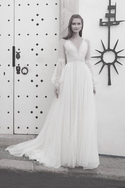 Brautkleid Boho, Vintage und Hippie