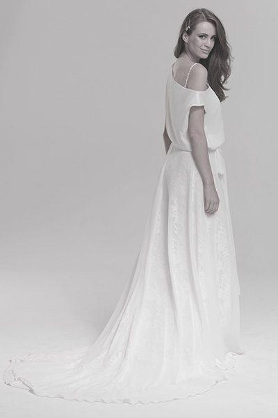 Hochzeitskleid Boho, Vintage und Hippie