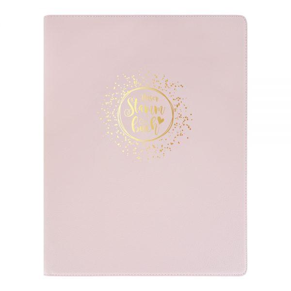 Stammbuch DIN A4 rosa