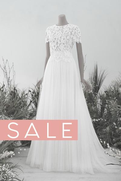 Brautkleid BOHO Vintage Sale 2020