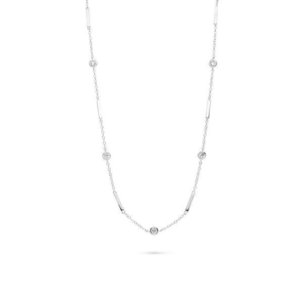 Halskette für die moderne und junge Braut