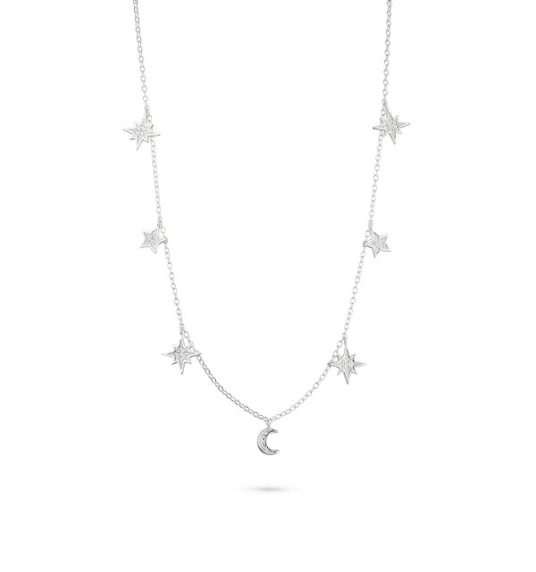 Halskette für die moderne Boho-Braut