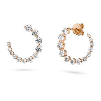Ohrringe für die moderne und junge Braut