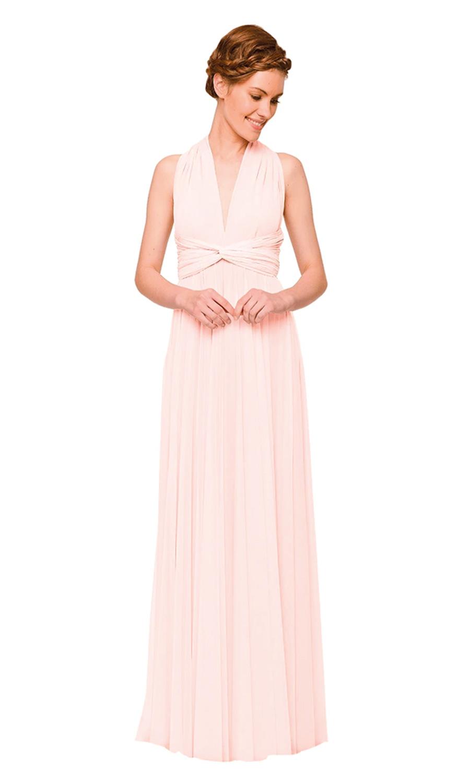 Moderne Wickelkleider für die Brautjungfern