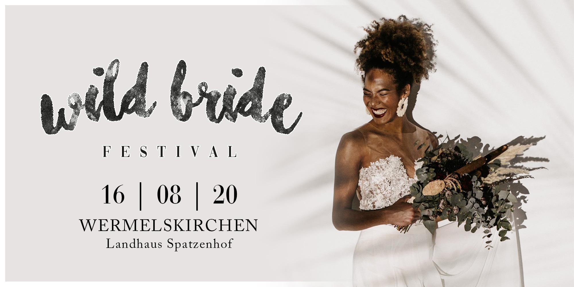Hochzeitsmesse NRW - Wild Bride Festival 2020