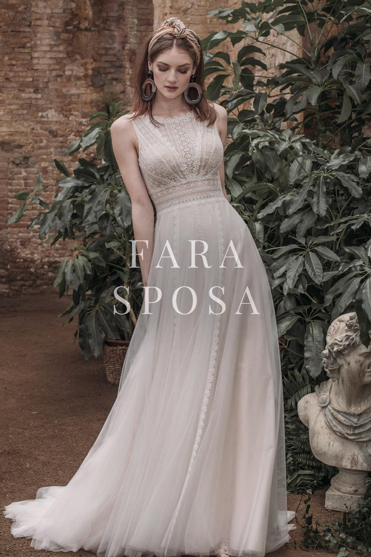 Boho-Brautkleider von Fara Sposa