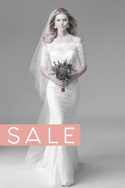 Moderne Brautkleider 2021 und 2022 - SALE